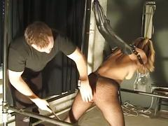 Sexy blonde cuties tied up in bondage and torture !
