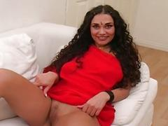Hot indian babe with a great ass showing her pussy and ass