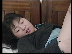 Beautiful cock sucking young asian girl sucks a nice facial load from a dick