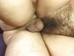 Horny blonde milf fucked on sofa