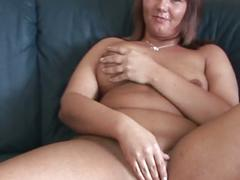 bbw, brunette, fat, masturbation, toys, brown hair, huge dildo, masturbating, plumper