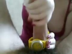 Yellow wirst watch