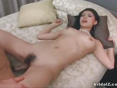 Asian goddess maria ozawa gets fucked hard