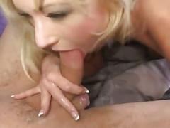 Sweet young blonde gets her pinkish skin ripped