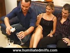 Stuck up milf gets a hardcore double penetration