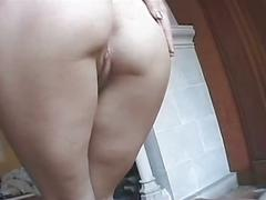 Horny amateur french babe gets hardcore anal