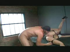 Sexy brunette loves hard sex and gets fucked