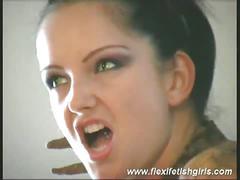 brunette, masturbation, pussy, solo, black hair, jerking off, masturbating, shaved pussy