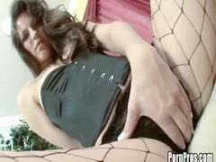 Nypho bobbi starr literally inhales a dick just to get off!