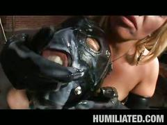bdsm, big tits, blonde, brunette, hardcore, bondage, brown hair, busty, doggy style, dungeon, humiliation, mistress, piledriver, platinum blonde, slave