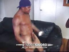 Hot big black hung fucking tight black ass