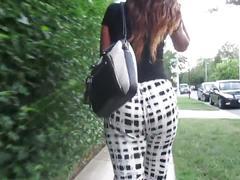 Sexy ass bitch, with a sexy ass walk