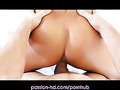 Passion-hd newly wed big boobs couple both hole creampie