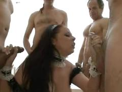 Gianna sucking the hot employed several men @pornmundial
