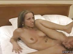 Hot bitch drilled hard by a horny asian dude