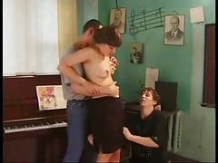 Russian film schoolgirl