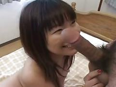 Pretty sexy japanese girl's hot hairy cunt fucked
