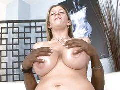 Blonde milf with huge tits fucked hard