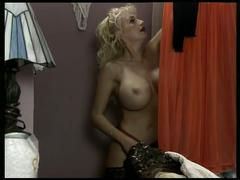 Busty blonde milf fucked hard by a stiff cock !