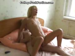 Beautiful college girls get dirty and nasty