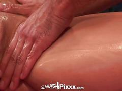 Sammie spades fucked hard by a horny masseur