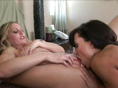Two horny milfs take on each other