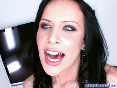 Hot babe katie st. ives fucks and swallows cum