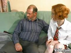 amateur, babe, old & young, pussy, red head, uniform, chick, cutie, freckles, girl next door, old man young woman, schoolgirl, tight pussy, vidz