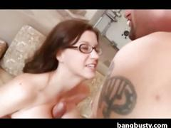 Busty milf gets fucked real hard