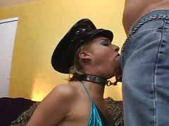 Chained up blonde liv wylder gets rough hardcore sex
