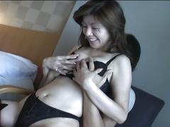 asian, brunette, black hair, japanese, piledriver, reverse cowgirl