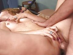 Sexy slut get pussy pounded hard