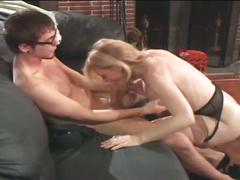 Hot nina hartley drilled by a younger cock