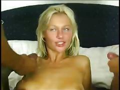 Fucked by 2 hot cocks
