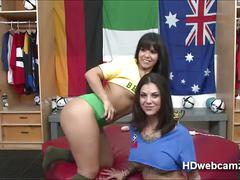 Webshow with rose monroe and two referee with viewers decide what they do