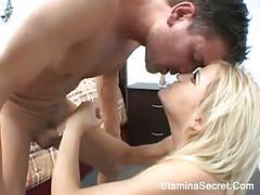 anal, blondes, cream pie