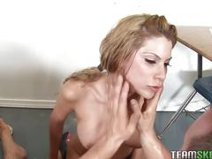 Busty alexa nicole rough fuck and cumshot