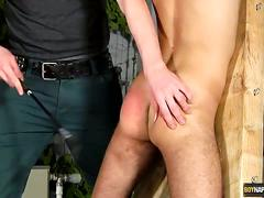 Tied twink oli jay abused by adam watson