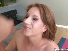 Brunette farrah fae gets her pussy pounded