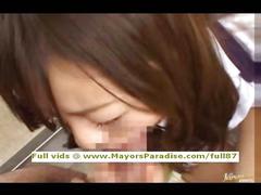 Miyu hoshino innocent chinese fingering and blowjobs