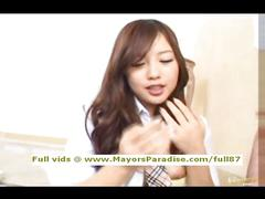Miyu hoshino innocent chinese fingering and blowjobs