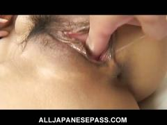 Hot big tit asian serina hayakawa sucks and fucks
