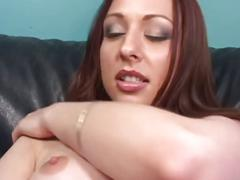 Hot amateur 19 year old brunette fingers pussy