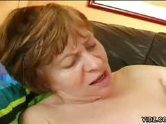 brunette, hardcore, mature, old & young, pussy, brown hair, mature amateur, old woman young man, piledriver, trimmed pussy