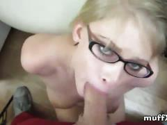 Allie james smokes my dick