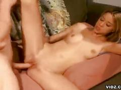 Sexy blonde chicks enjoys hot hardcore fucking
