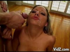 Horny bitch gets her slit and ass fucked