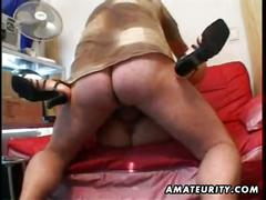 Amateur blonde girl- jack of all trades
