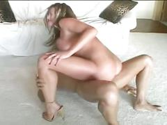 Busty brunette babe enjoys hardcore fucking