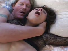 amateur, babe, big dick, brunette, hardcore, pussy, threesome, 3some, beauty, beef curtains, big cock, black hair, chick, doggy style, first time, girl next door, gorgeous, homemade, massive dick, missionary